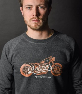 Bobber Biker sweat-shirt