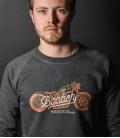 Bobber Biker sweat-shirt