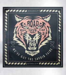 foulard-soie-biker-Tiger