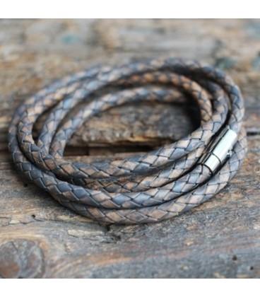 Bracelet corde 4 tours