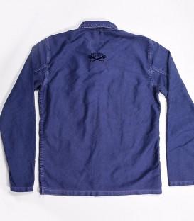 Motorcycle moleskine jacket Française de mécanic