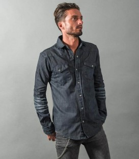Dry denim shirt : Raw Dude