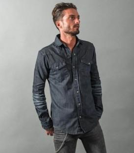 Raw Dude : chemise en jean brut