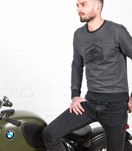 "Casual ""Thug"" motorcycle sweat-shirt 250gr"
