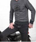"Casual ""Thug"" motorcycle sweat-shirt 250gr"