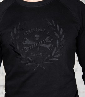 """Embroidery """"victoire black"""" sweat-shirt"""