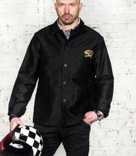 Moleskine jacket Worker black