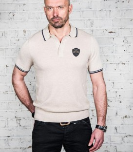 Sixties beige champion polo