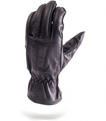 Rixe à Paname black motorcycle gloves