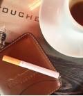 Lather Cigarette case x 10