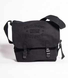 Black US Bag with embroidery