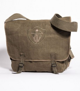 Khaki US Bag with embroidery