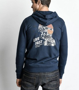 Rider hoody sweat-shirt