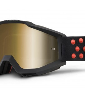Masque motocross Accuri Gernica - Mirror gold lens