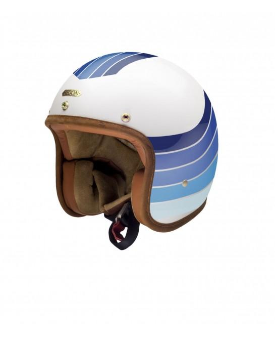 Casque jet moto Hedon -...