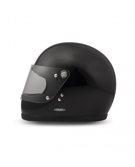 Rocket racing black helmet DMD