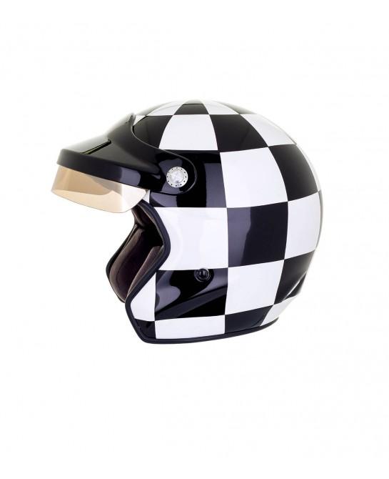 Casque moto jet Felix Grand...