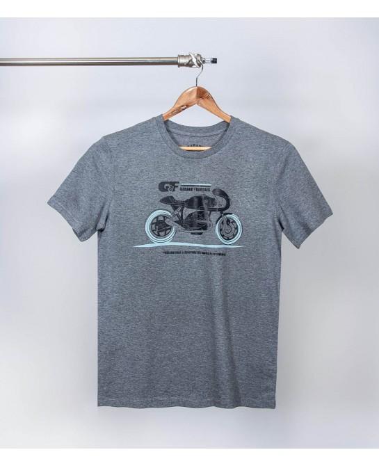 Tee-shirt biker cafe racer