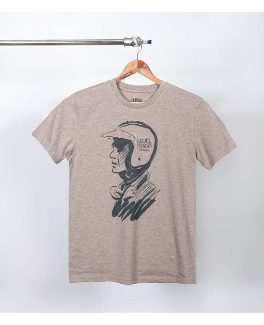 Tee shirt vintage sand