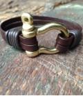 bracelet with black matt nuts