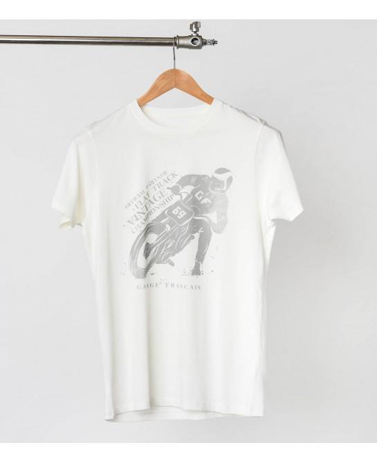 Tee-shirt flat track - Old...