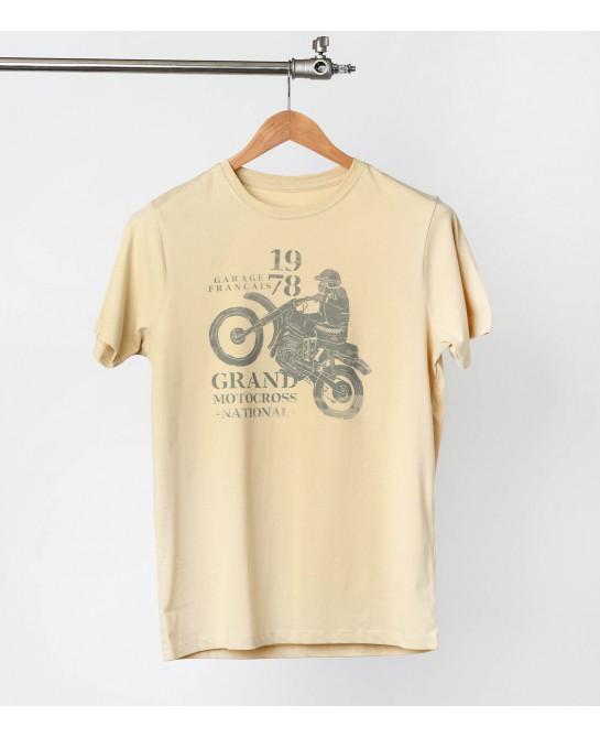 Tee-shirt Cross 70's - Old...