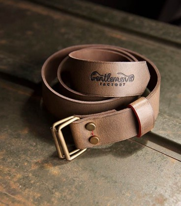 Belt rider brown leather