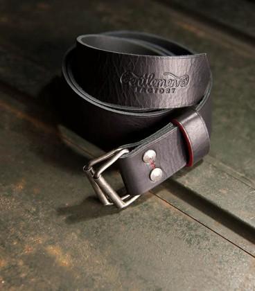Belt rider black leather