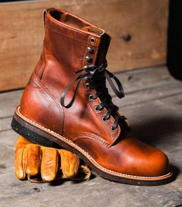 Chaussures Chippewa Tan Renegade 8 inch