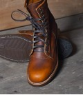 Tan Renegade Chippewa Shoes 8 inch