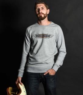 Biker sweat-shirt chopper inspiration