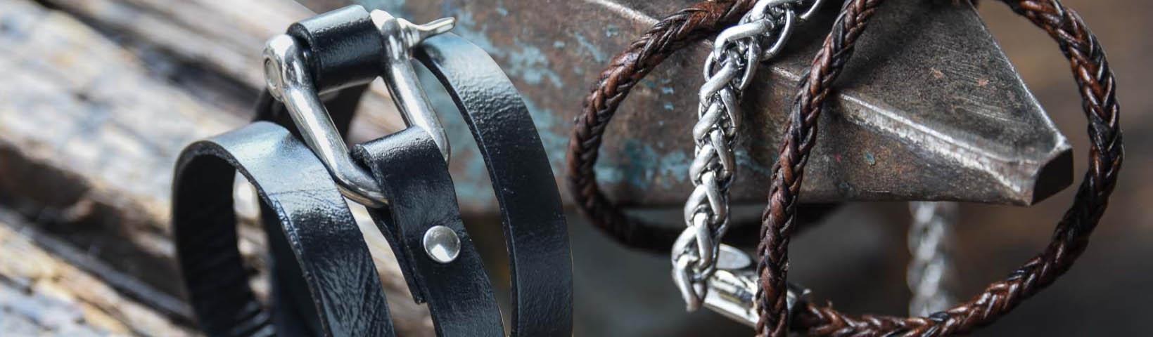 Bracelets et cordons pour bikers